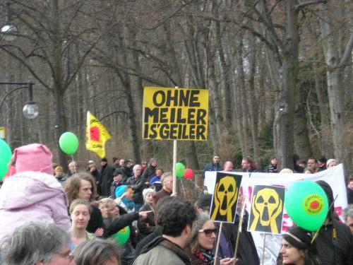 Anti-AKW-Demonstration Berlin 26. März 2011