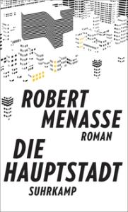 Buchcover Robert Menasse: Die Hauptstadt. Roman