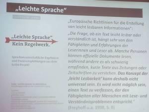 Folie mit Zitat aus den EU-Richtlinien